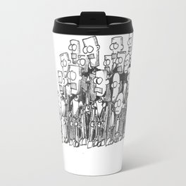 Robot Gathering Travel Mug