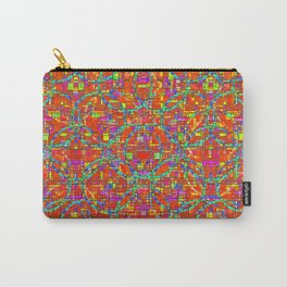 Verre Colore Pattern Carry-All Pouch