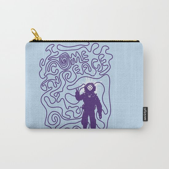 I come in Peace Carry-All Pouch