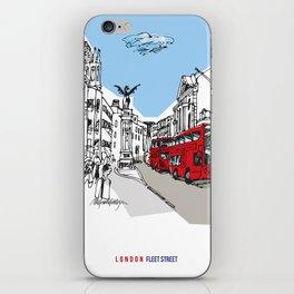London Fleet Street iPhone Skin