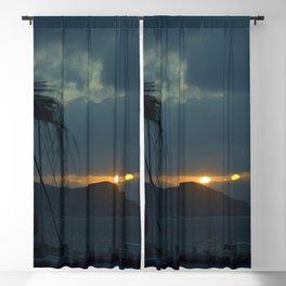 Sunset Naxos Blackout Curtain