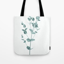 Minimal Eucalyptus Tote Bag