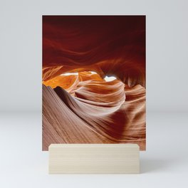 Antelope Canyon Looking Up Mini Art Print
