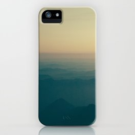 Overlooking Nisqually iPhone Case