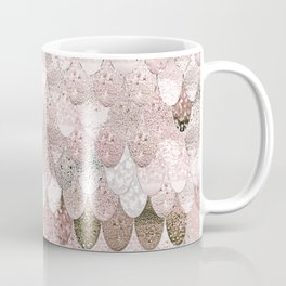 SUMMER MERMAID NUDE ROSEGOLD by Monika Strigel Coffee Mug