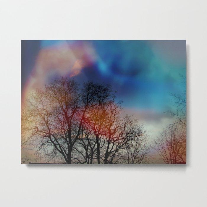 Tree Spirits Metal Print