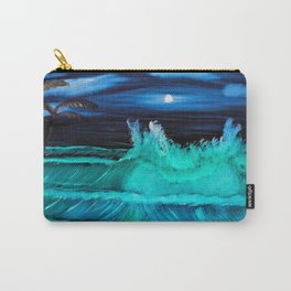 """""""Moonlite Tides"""" Carry-All Pouch"""
