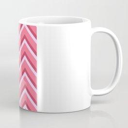 Pink Zig Zag Pattern Coffee Mug