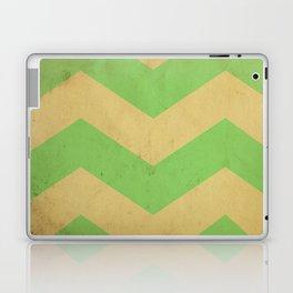 Seafoam Chevron Laptop & iPad Skin