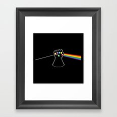 Dark Side of Infinity Framed Art Print