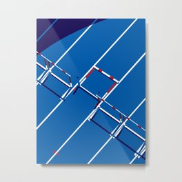 Track and Field Metal Print