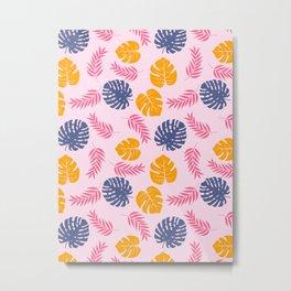 Summer Pattern Metal Print