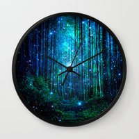 sale Wall Clocks featuring magical path by haroulita