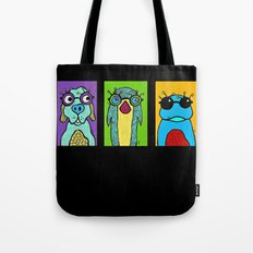 Guys with Glasses Tote Bag