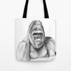Gorilla male sketch SK020 Tote Bag