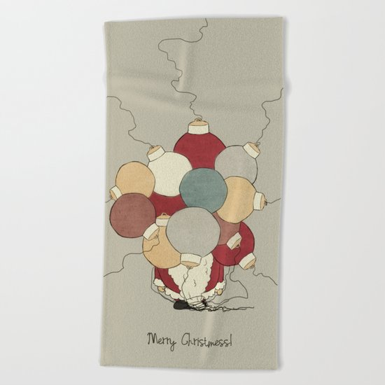 Christmess Beach Towel