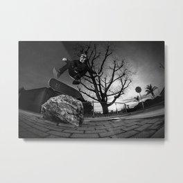 Ryan Donovon - Backside Kickflip Metal Print