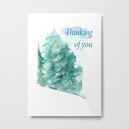 Bleak MidWinter - Thinking Of You Metal Print