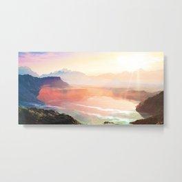 Sunrise Grandeur #society6 #decor #buyart Metal Print