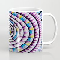 fibonacci Mugs featuring 12 Rings of Fibonacci by Todd Huffine