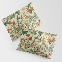 french vintage 1800s adolphe millot Pillow Sham