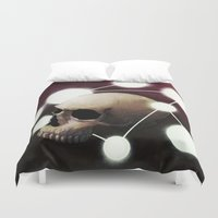 alchemy Duvet Covers featuring Alchemy by Fabrice Gagos