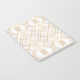 Golden Geo Notebook