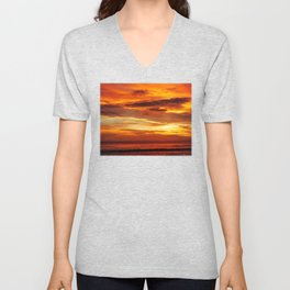 Another Beautiful Costa Rica Sunset Unisex V-Neck