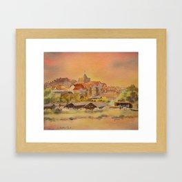 Rye East Sussex UK Framed Art Print