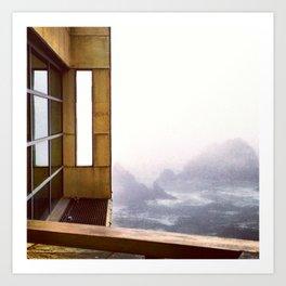 Day Ten: Cliff House Art Print