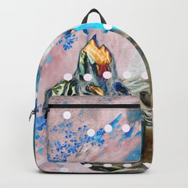 The Lovers In Pink Backpack