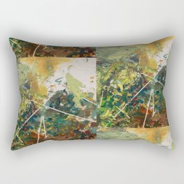 Moss Study 4 Rectangular Pillow