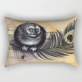 Owl Monkey Rectangular Pillow