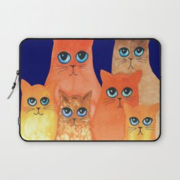 Annapolis Whimsical Cats Laptop Sleeve