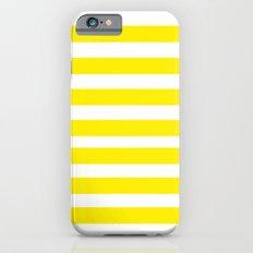 Yellow Lines iPhone 6s Slim Case