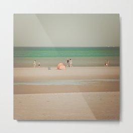 Beach dune miniature 1 Metal Print