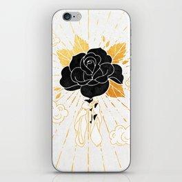 Black Rose Inktober :: Your Psyche iPhone Skin