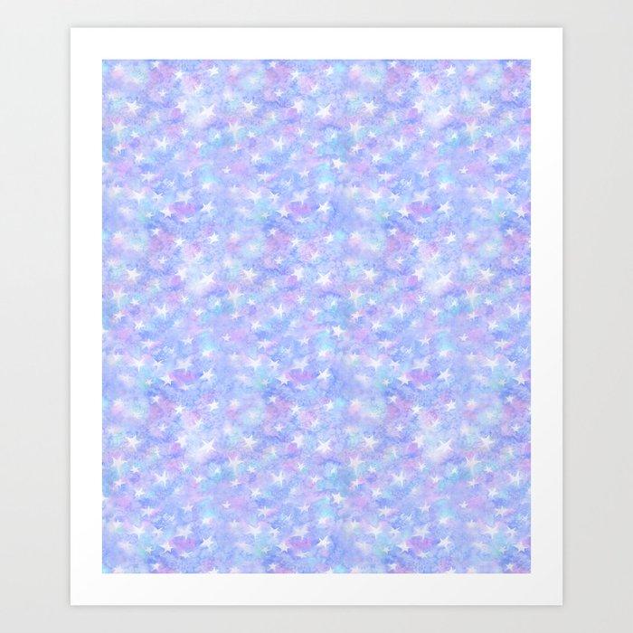 Twinkle stars Art Print