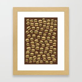 Cheeseburgers Framed Art Print