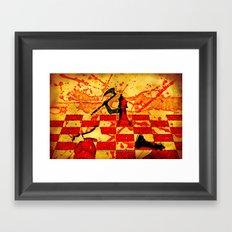 The Red Queen - 040 Framed Art Print