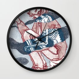 kurt smoking Wall Clock
