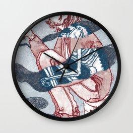 kurt smoking Wall Clock