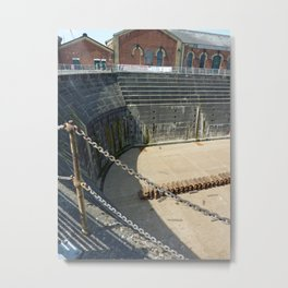 White Star Line Dock Belfast Metal Print