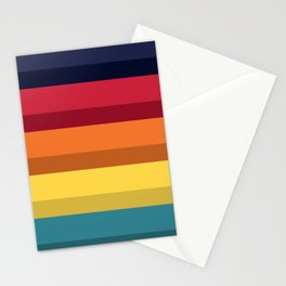 Accordion Fold Series Style D Stationery Cards