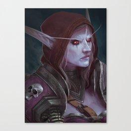 The Banshee Queen Canvas Print