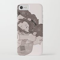 twins iPhone & iPod Cases featuring twins by JohannaTheMad