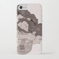 johannathemad iPhone & iPod Cases featuring twins by JohannaTheMad