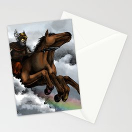 Odin and Sleipnir Stationery Cards