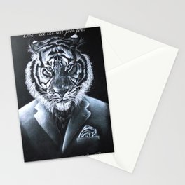 """""""Don't let the suit fool you."""" Stationery Cards"""