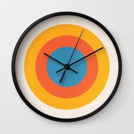 Bauhaus Circles: 1919 Exhibition Wall Clock